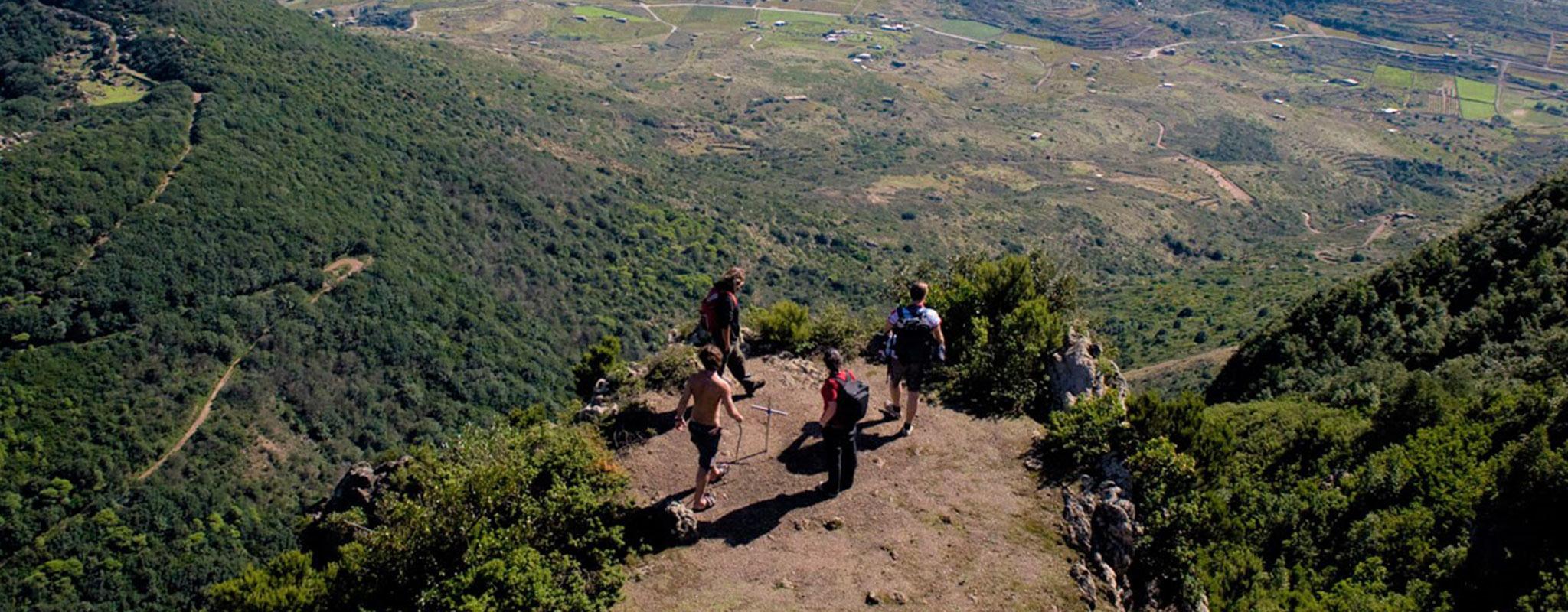 trekking pantelleria montagna