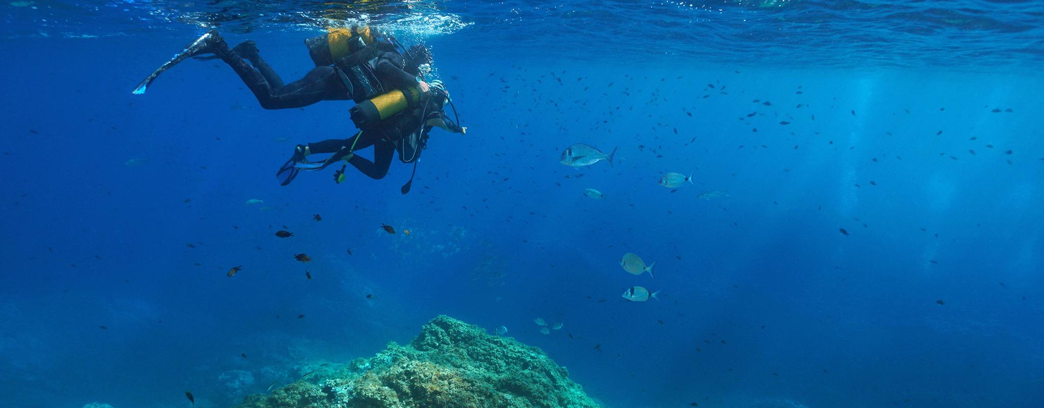 diving pantelleria